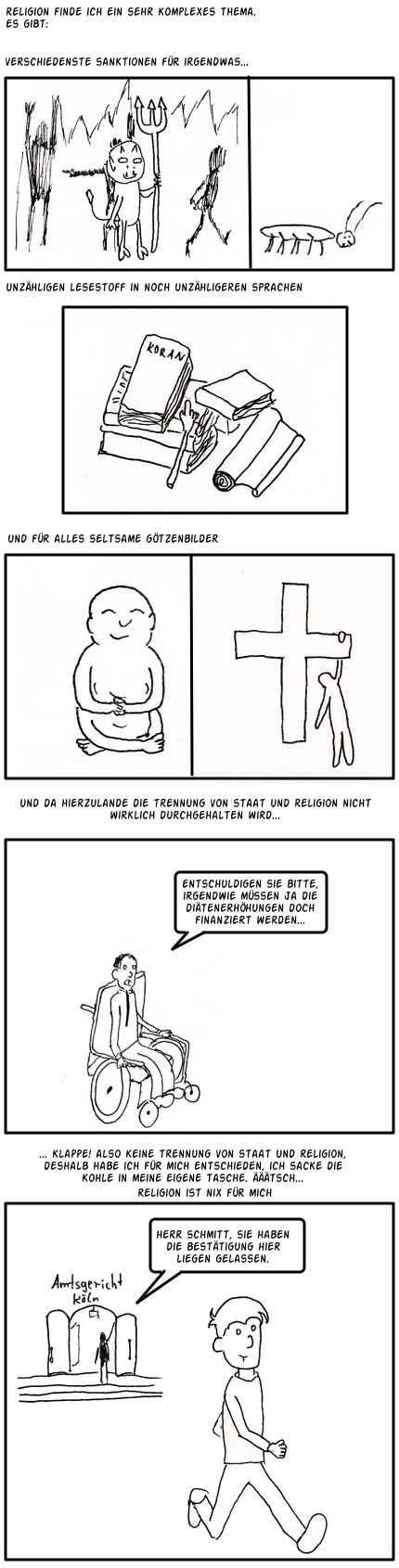Comic Collab #11: Religion